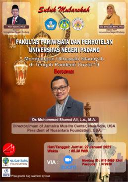 Subuh Mubarokah Fakultas Pariwisata dan Perhotelan UNP