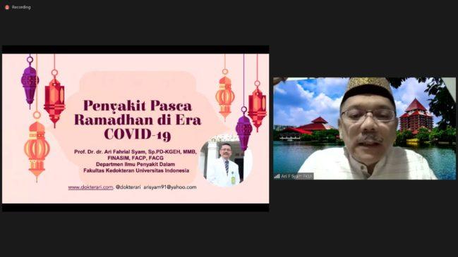 Subuh Mubaraqah Fakultas Pariwisata dan Perhotelan UNP. Ikhtiar dan Doa dalam Menghadapi Penyakit Pasca Lebaran